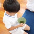 『茶道体験』を行いました(年長)
